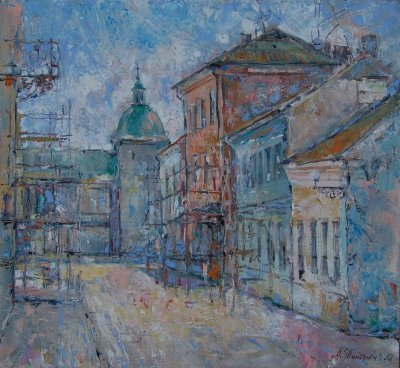 Oil on canvas, 25 1/2 x 27 1/2 inches, 2007, from plenner  Save Harodnia