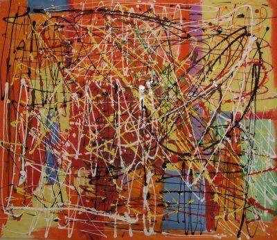 Acrylic on canvas,62 x 55 inches, 2010